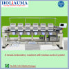 Holiauma 6 Chefe de tricotar máquina de bordado bordados de alta velocidade informatizada das funções da máquina para máquina de bordado retilínea