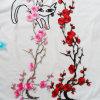مصنع [أم] [أدم] بيع بالجملة [إيرون-ون] تطريز خوف زهرة زهرة الحافز [أبّليقو] يطرّز زيّ رقعة
