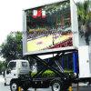 Nuevos productos de la publicidad al aire libre de la idea móviles/pantalla de visualización móvil flexible de LED del acoplado P16