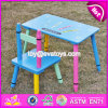 유아 W08g217를 위한 새로운 디자인 유치원 나무로 되는 테이블 그리고 의자