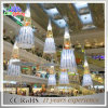 Holiday Shopping Mall Decorativo LED cortina de luzes de Natal para parede