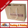 Bolsa de papel de Kraft con la maneta (2159)