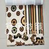 Tissu imprimé de la sellerie de daim Nubuck canapé