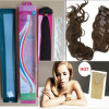Hair Extensionの卸し売りPrice 100%Human Hair Remy Clip