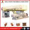 Hoch entwickelte gebrannter Ziegelstein-Maschine in der Lehm-Ziegelstein-Fabrik