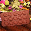 イースターDayおよびJelly MoldのためのB0065 Egg Silicone Chocolate Mold