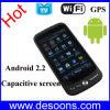 Teléfono elegante del androide 2.2 Duales-SIM de WiFi que vuela GPS TV con la pantalla capacitiva (FG8)