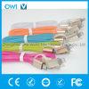 iPhone USB 케이블을%s 편평한 색깔 고속 Charger&Transfer 5 데이터