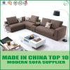 Tessuto di tela classico nordico L sofà sezionale di figura