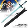 Spada scura HK8288 del Anime di Repulser della spada bianca in linea di Kirigaya Kazuto Kirito di arte della spada