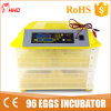 Инкубатор яичка 96 цыпленк энергосберегающей прочной силы малый (YZ-96)