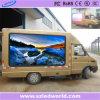 Sinal video móvel ao ar livre/interno do painel da placa da visualização óptica do caminhão da parede do diodo emissor de luz do RGB da cor cheia para anunciar o fabricante de China (p4, p5, p6, p8, p10)