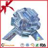 Оптовая торговля Silver голографических рождественских подарков потяните лук