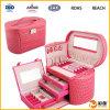 Коробки подарка ювелирных изделий, коробка ювелирных изделий PU кожаный, коробка ювелирных изделий
