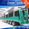Tri Function Lowbed Container Side Wall Trailer mit Ladder
