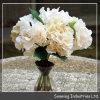 Flores artificiais do Hydrangea do chocolate de Sunwing