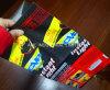 Bolso del carbón de leña en el papel de Kraft