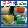 Acier recouvert de couleur prépeint bobine/feuille (épaisseur) 0.135-1.4mm*600-1250mm