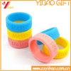 Оптовый изготовленный на заказ Wristband силикона логоса