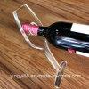 Súper calidad titular de botella de vino de acrílico para la promoción