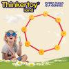 Het geometrische 2D Stuk speelgoed van de Bouw van de Vorm van het Overzicht voor Kinderen
