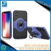 Caso di cuoio di iPhone di Verus con il supporto dell'anello per il iPhone X