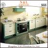 N及びL国様式のカシ標準的なデザイン純木の食器棚