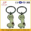 Het Type en het Type Dierlijke Keychain van Metaal van de Legering van het zink van Anime Keychain