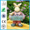 Standbeeld 11.4 van de tuin het  Nieuwe Konijn van Pasen van de Hars