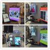 Ultra flexible Vorhang LED-Bildschirmanzeige, Fall und Kurven-Installation