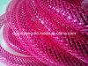 Hot Pink Deco tubo flexible de malla para las luces de Navidad