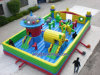 Recreational Purpose (A256)のための最も新しいDesign Inflatable Castle Used