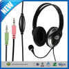 3.5mm Stereo Headphone Headset mit Mic Microphone