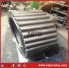 Tipo válvula do talão de aço de molde de verificação dupla do balanço da placa (HTL76)