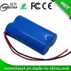 18650 packs batterie de lithium 2200mAh 7.4V pour l'éclairage LED