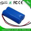 18650 Lithium-Batterie-Satz 2200mAh 7.4V für LED-Licht