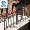 La alta calidad creó la barandilla de acero 010 de la escalera del cinc labrado