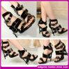 2014 Venta caliente noche sexy mujer sandalias zapatos de tacón