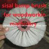 Cepillo del cáñamo de sisal para el polaco de la maquinaria de carpintería (YY-334)