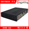 Receptor de TV de color negro Skybox F3