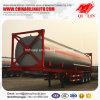 3 Axles 40FT контейнера рамок топливозаправщика трейлер Semi