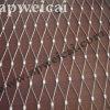 La maglia del cavo di obbligazione di caduta cattura con la rete lo schermo del cavo del fiume degli ss