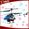 RC novo Products Made em China Wholesale Quadcopter Amphibious 2 Channel Infrared Alloy RC Helicopter Toys Can Spray Bubble