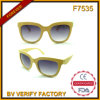 Korn-Plastiksonnenbrillen des heißen Verkaufs-F7535 hölzerne