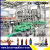 Botella de vidrio de buena calidad Máquina de Llenado de agua carbonatada