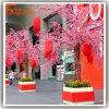 Albero artificiale del fiore della pesca del fiore della ciliegia della decorazione di cerimonia nuziale