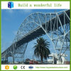 Surtidor prefabricado de la solución del diseño de la configuración del edificio de puente de peatón del acero estructural