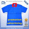 Promoção dos homens personalizados que anuncia a camisa de polo barata do algodão do piqué do colar do contraste