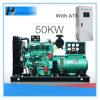 50kw/62,5 kVA moteur brushless à Stamford avec ATS générateurs générateur de moteur diesel
