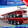 Flatbed Aanhangwagen van de Container van de tri-as 40foot voor Togo
